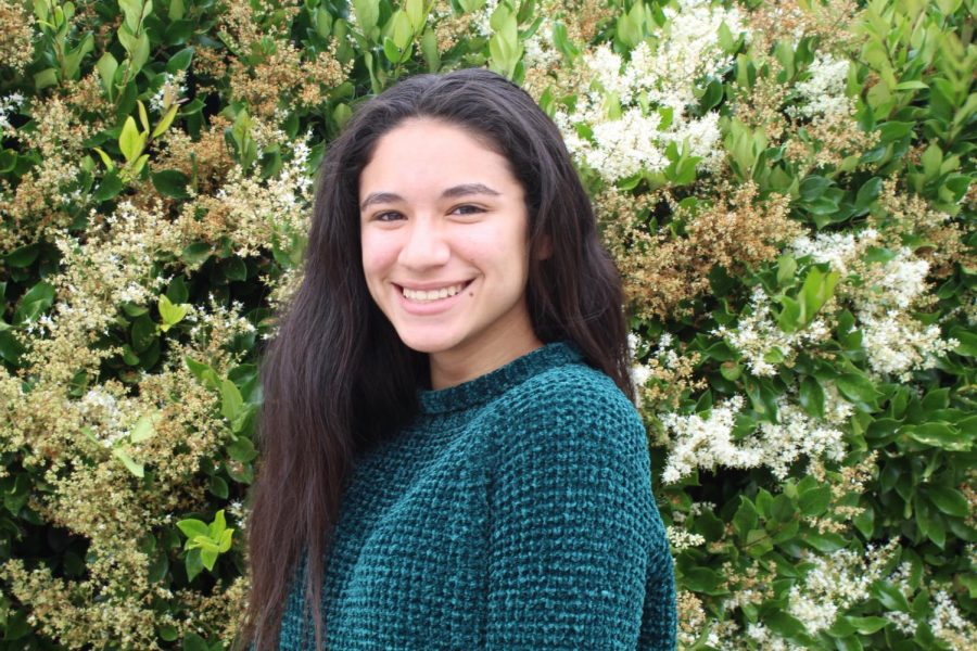 With a luminous smile, Jocelynn Beltran bids adieu to her home away from home of four years.