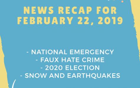 News recap for February 22, 2019