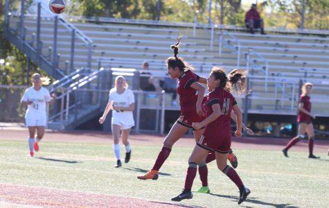 Varsity girls soccer is in it to kick it