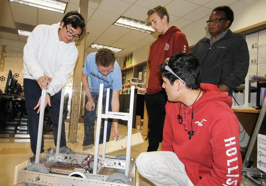 Robotics prepares to blast off into competition mode