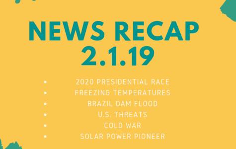 News recap for February 1, 2019
