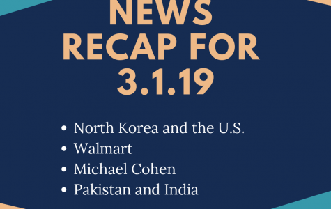 News recap for March 1, 2019