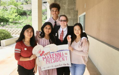 Students rise to the top in their AP Government election