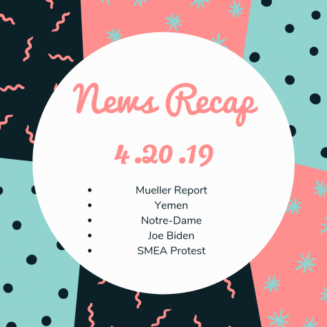 News Recap for April 20, 2019