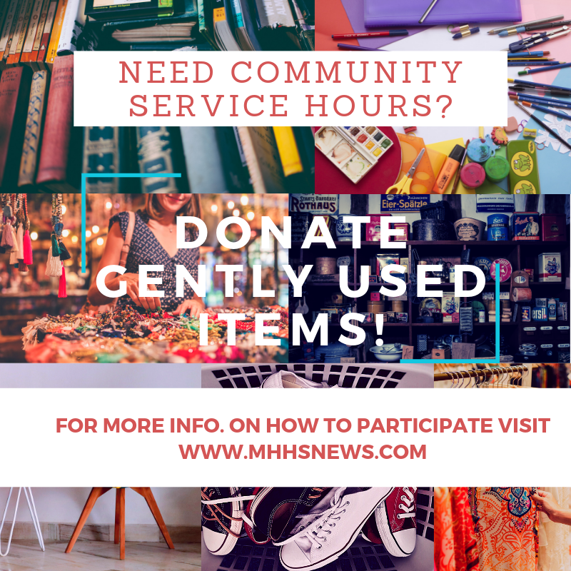 Donate gently used items to drive journalism forward at MHHS