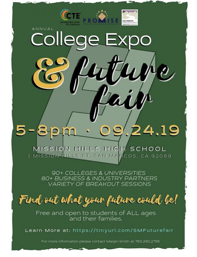 SMUSD+invites+families+to+the+first+combined+annual+College+Expo+and+Future+Fair+at+MHHS