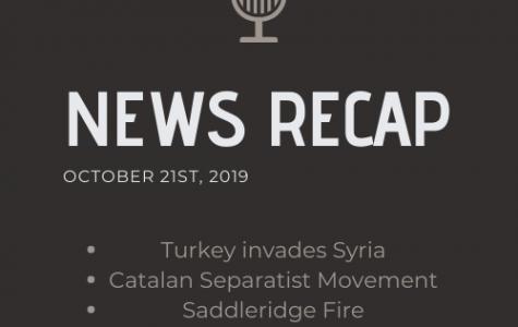 News Recap for October 21, 2019