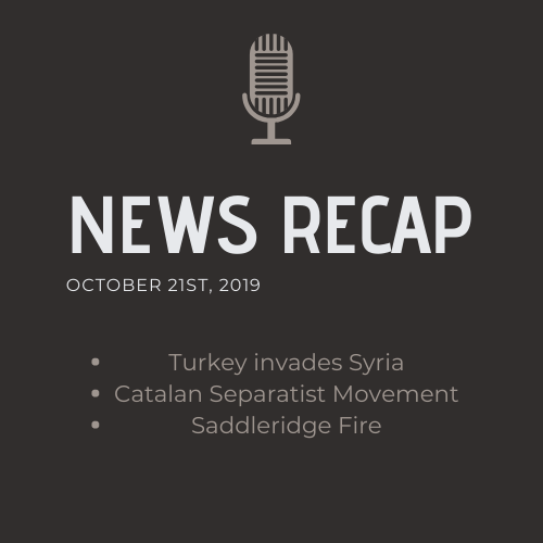 News Recap for October 21, 2019