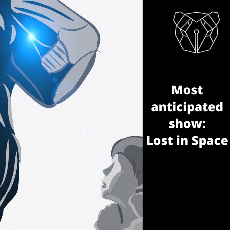 Lost in Space won most anticipated show with 173/345 votes.