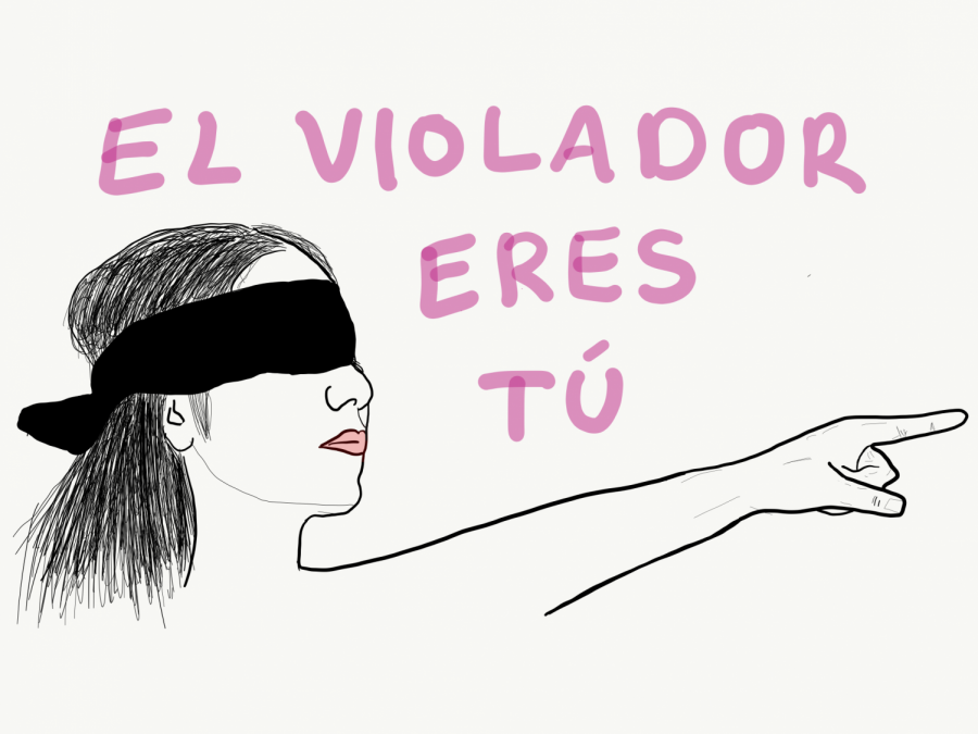 The chant, El violador eres Tú,is used by protesters to bring awareness to femicides in Latin America.