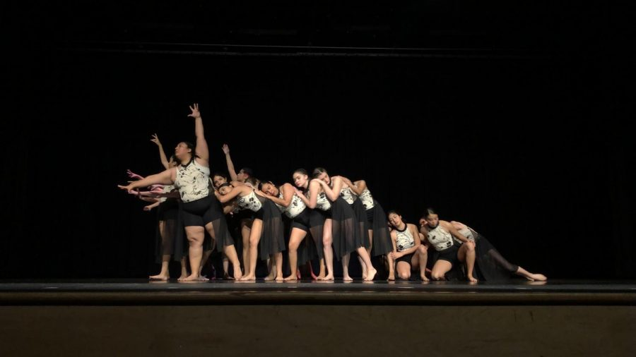 Danz D' Artz performs a dance piece called 'Brighter;' an artistic representation of embracing the feeling of sadness.