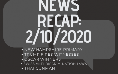 News Recap for February 10, 2020