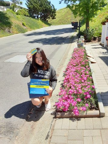 Lisa expresses excitement as she prepares to spend the next four years of her life at UCSD