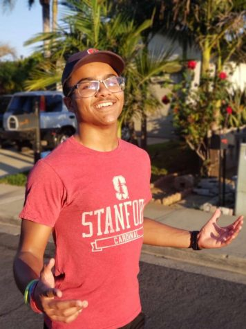 D'Andre Jorge is ready to embark on his brightly lit path toward Standford University.