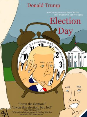 From Groundhog Day with Trump to a sentimental Joe Biden, here are this week's cartoons.