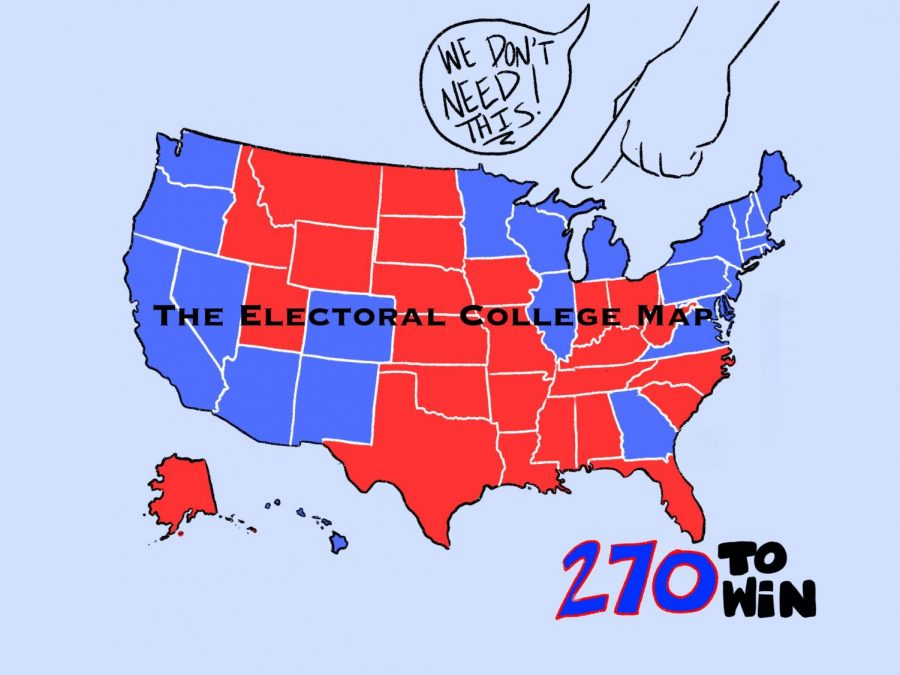 Many+students+believe+that+we+do+not+need+the+Electoral+College+in+a+presidential+election.+