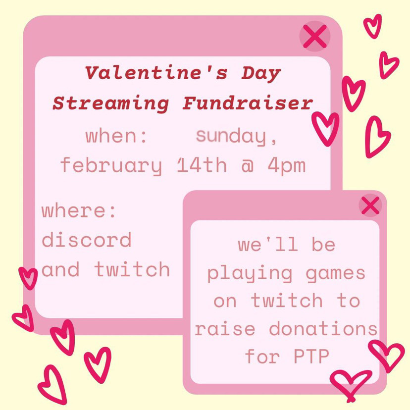 The MHHS Key Club will be holding a charity stream this Valentine's Day through Twitch and Discord! If you would like to sign up, go to the link in their Instagram bio (@mhhskeyclub).