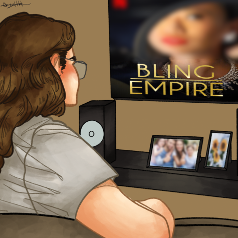 "Grab some popcorn to settle in and binge-watch ""Bling Empire!"""